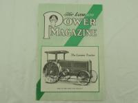 The Lauson Power Magazine