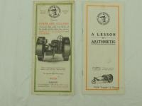 2 - La Crosse Tractor Co. Brochures