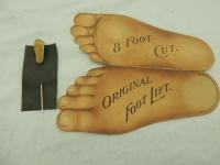 Emerson Brantingham Foot Trade Card & Stickpin