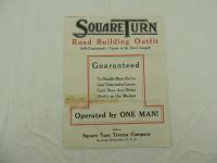 Square Turn Tractor Co. Foldout Brochure