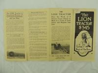 The Lion Tractor Brochure