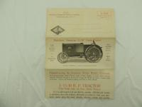 American Engine & Tractor Company Mailer