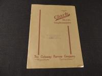 "Clark ""Cutaway"" Farm Implements Catalog"