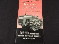 Bristol Tractor Foldout Brochure
