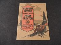 """Albaugh - Dover """"Square Turn"""" Farm Tractor Catalog"""