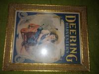 Deering Harvesters Calendar Top