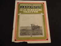 IHC - Mogul 12 - 25 Kerosene Tractor Brochure