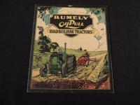 Rumely Oil Pull Road-Building Tractors Catalog