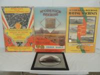 McCormick-Deering Posters (3) and photo