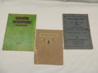 Hart Parr and Case Thresher Memorabilia