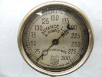 Advance Line - M. Rumley Co. Double Spring Traction Engine Gauge