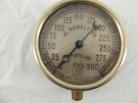 M. Rumely Co. Laporte, Ind. Double Spring Traction Engine Gauge