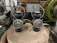 Pair of Early Automobile Marker Lights