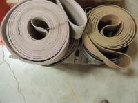 Lot of 4 Flat Belts