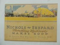 Nichols & Shepard Threshing Machinery Catalog