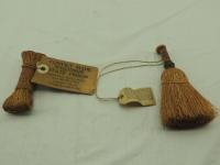 IHC Miniture Souvenir Twine Broom, & Standard Binder Twine Sample