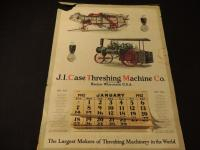 1912 J. I. Case Threshing Machine Co. Calendar