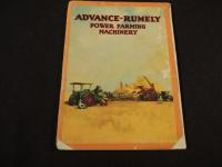 Advance - Rumely Power Farming Machinery Catalog