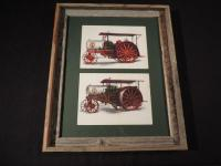 Framed Twin City Gas Tractors Artist Proofs