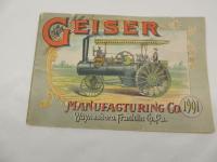 "1901 ""Geiser Manufacturing Co."""