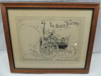 """""""The Huber Traction"""" Framed Poster"""