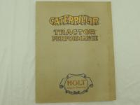 Caterpillar Tractor Performance Catalog (Holt)