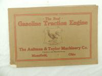 The Aultman & Taylor Machinery Co. - The Real Traction Engine Catalog