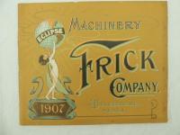 Frick Co. 1907 General Catalog