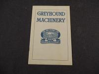 Greyhound Machinery Catalog