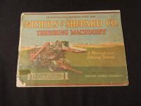 Nichols & Shepard Co. Threshing Machinery Catalog