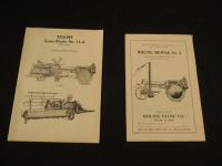 2 - Moline Plow Co. Manuals