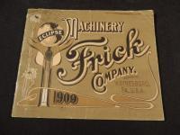 1909 Frick Company Catalog