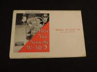 IHC - Have You Seen The W-30 ? Fold Out Mailer