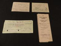 Lot of IHC Paper Items