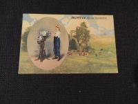 Rumely Cream Separator Postcard