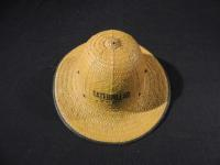 Early Color Caterpillar Straw Pith Hat