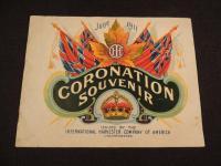 IHC June 1911 Coronation Souvenir Catalog