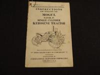 IHC Mogul 8 - 16 Operating Manual