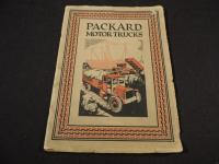 Large Packard Motor Trucks Catalog