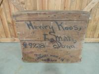 Early Fairbanks, Morse & Co. Wooden Crate