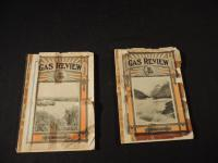Lot of 2 Gas Review Magazines from 1912