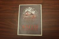 1927 Wallis Tractors Catalog, J. I. Case Plow Works, Racine, WI