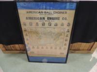 1906 American Ball Engine Co. Calendar