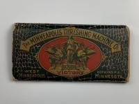 1900 MINNEAPOLIS THRESHING MACHINE CO STEAM AND GAS ENGINE ANNUAL CATALOG