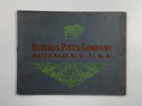 1908 BUFFALO PITTS STEAM ENGINE CATALOG