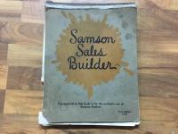1920 Samson Sales Builder Book