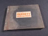 Parrett 12-25 Tractor Factory Photo Book