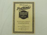 Port Huron Supplies Catalog for 1925