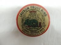 Lauson Frost King Celluloid Pocket Knife Sharpener