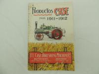 J.I. Case Threshing Machine Co. Products Catalog for 1911-1912